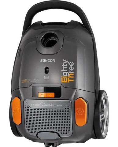 Podlahový vysávač Sencor SVC 8300TI čierny/oranžov