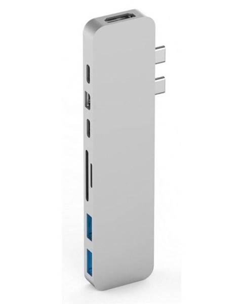 HyperDrive USB Hub HyperDrive PRO USB-C Hub pro MacBook Pro strieborný