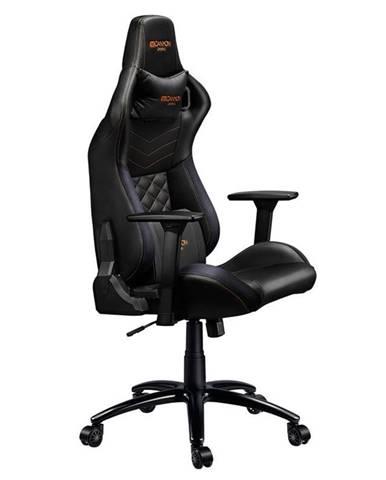Herná stolička Canyon Nightfall čierna/oranžová