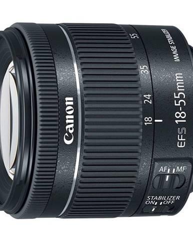 Objektív Canon EF-S 18-55 mm f/4-5.6 IS STM čierny