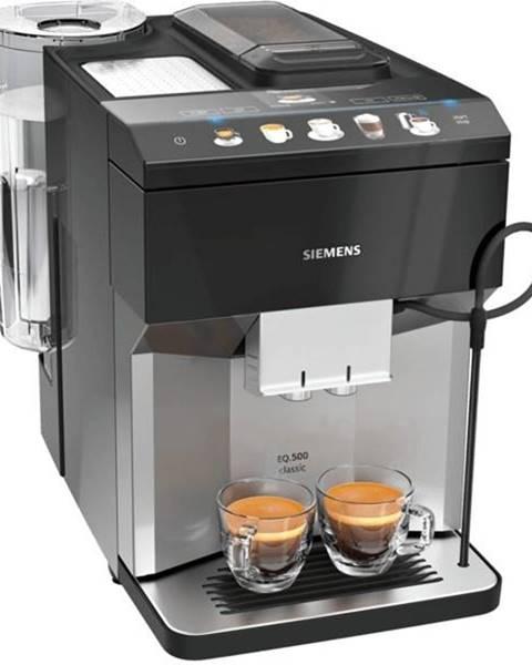 Siemens Espresso Siemens EQ.500 Classic Tp507rx4  čierne/nerez