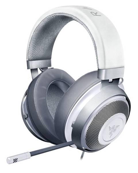 Razer Headset  Razer Kraken, Mercury biely