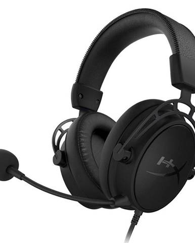 Headset  HyperX Cloud Alpha S - Blackout čierny