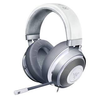 Headset  Razer Kraken, Mercury biely