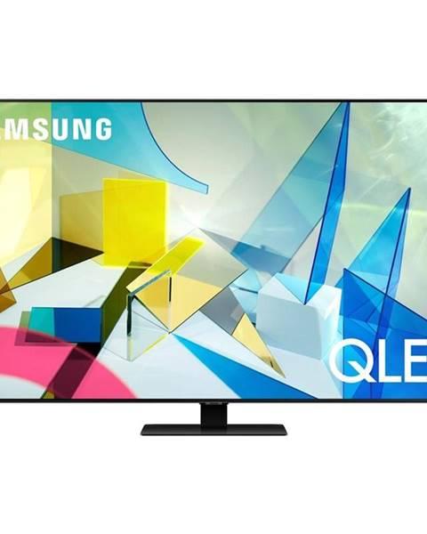 Samsung Televízor Samsung Qe65q80ta strieborn