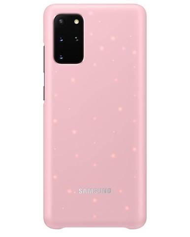 Kryt na mobil Samsung LED Cover na Galaxy S20+ ružový