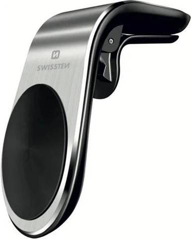 Držiak na mobil Swissten S-Grip Easy Mount, do ventilace strieborný