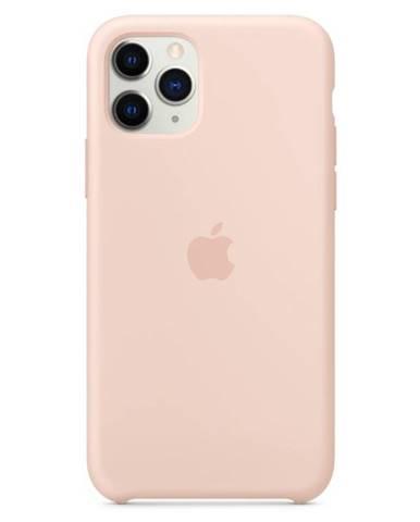 Kryt na mobil Apple Silicone Case pre iPhone 11 Pro - pieskovo