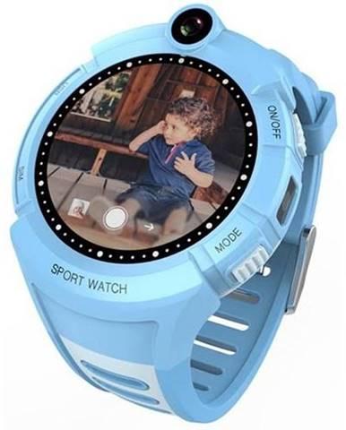 Inteligentné hodinky Carneo GuardKid+ GPS dětské modré