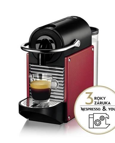 Espresso DeLonghi Nespresso EN124.R červen