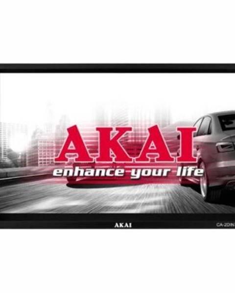 AKAI Autorádio s LCD Akai CA-2Din7135s čierne