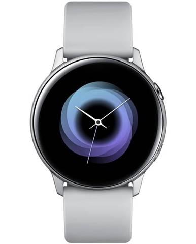 Inteligentné hodinky Samsung Galaxy Watch Active strieborná