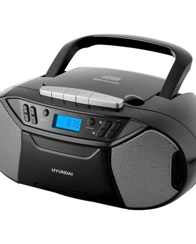 Rádiomagnetofón s CD Hyundai TRC 333 Au3btb čierny