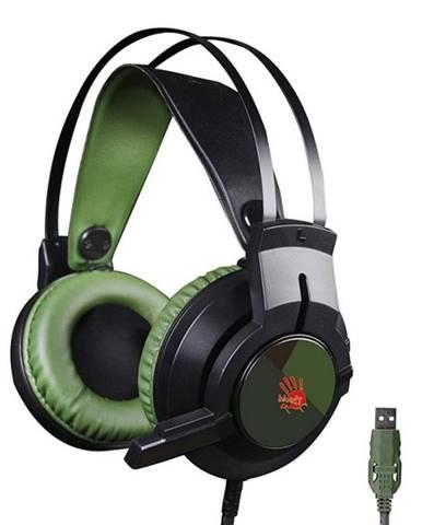 Headset  A4Tech Bloody J437 zelený