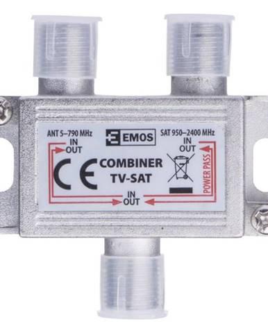 Redukcia Emos slučovač satelitního a anténního signálu