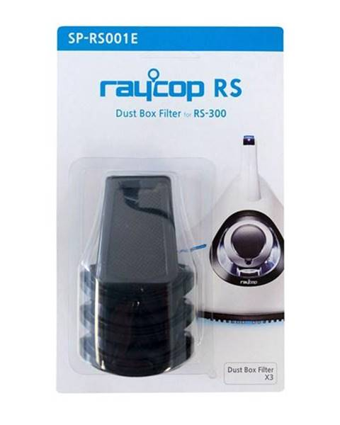 Raycop Filtry, papierové sáčky Raycop RS300 RAY019 čierny