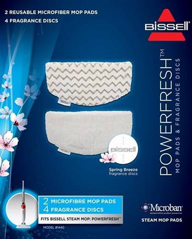 Čistiace textílie Bissell 1016N biela/modr