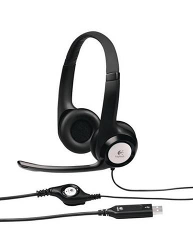 Headset  Logitech H390 USB čierny