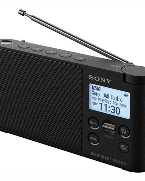 Sony Rádioprijímač s DAB+ Sony XDR-S41DB čierny