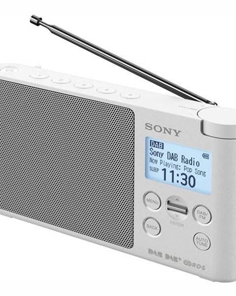 Sony Rádioprijímač s DAB+ Sony XDR-S41DW biely