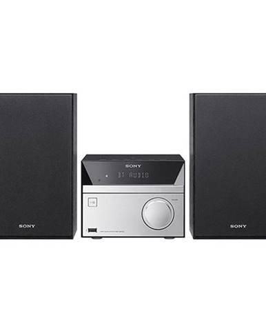 Mikro HiFi systém Sony CMT-Sbt20b strieborn