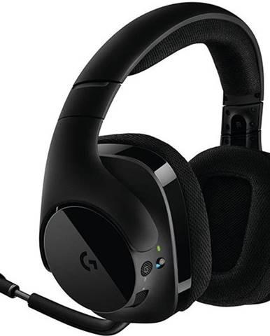 Headset  Logitech Gaming G533 Wireless čierny