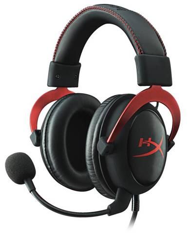 Headset  HyperX Cloud II čierny/červený