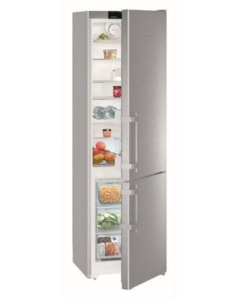 Liebherr Kombinácia chladničky s mrazničkou Liebherr Comfort CNef 4015 nerez