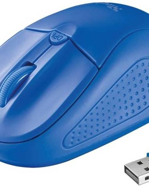 Trust Myš  Trust Primo Wireless modrá / optická / 4 tlačítka / 1600dpi