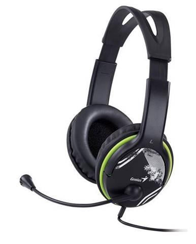 Headset  Genius HS-400A čierny/zelený