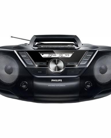 Rádiomagnetofón s CD Philips AZ787 čierny