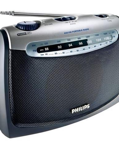 Rádioprijímač Philips Portable radio AE 2160 strieborn