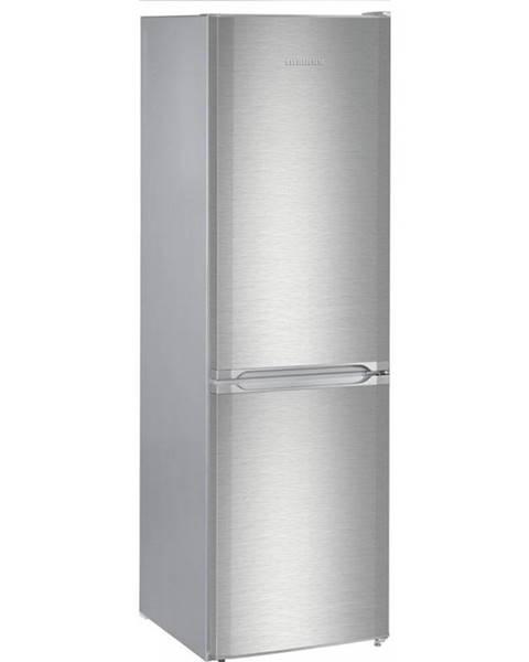 Liebherr Kombinácia chladničky s mrazničkou Liebherr CUef 331 strieborn