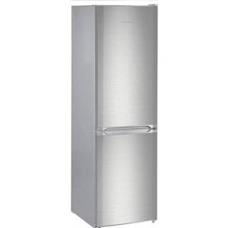 Kombinácia chladničky s mrazničkou Liebherr CUef 331 strieborn