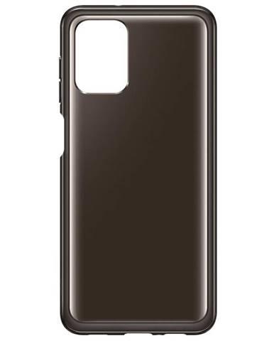 Kryt na mobil Samsung Galaxy A12 čierny/priehľadný