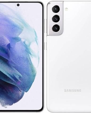 Mobilný telefón Samsung Galaxy S21 5G 128 GB biely