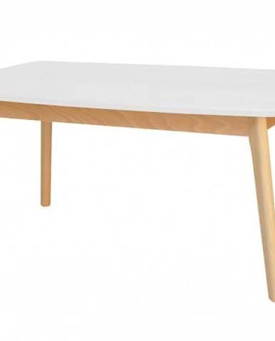Konferenčný stolík ST202002 biela/buk