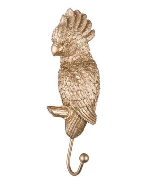 Leitmotiv Vešiak v zlatej farbe Leitmotiv Kakadu