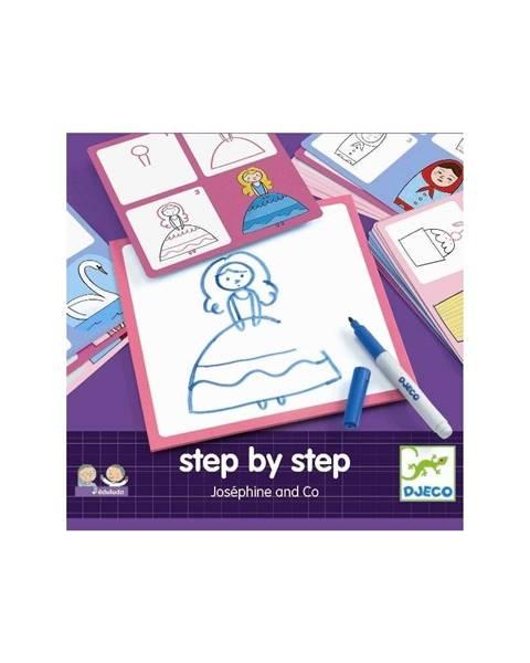 Djeco Kreatívna sada Djeco Step By Step Josephine