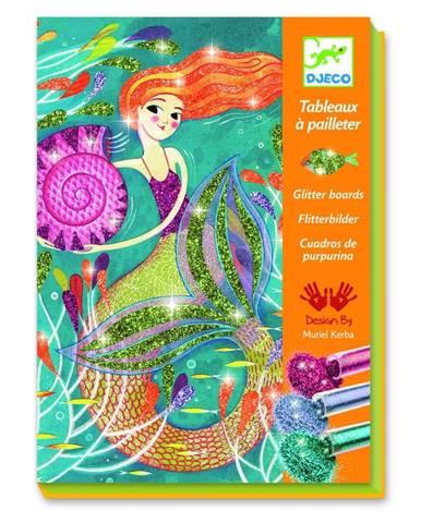 Výtvarný set Djeco Mermaids