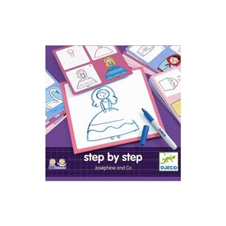 Kreatívna sada Djeco Step By Step Josephine
