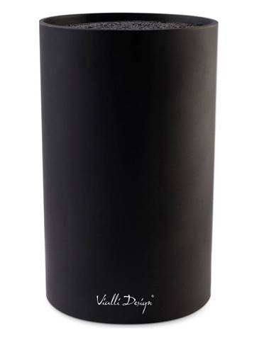 Čierny blok na nože Vialli Design Universal