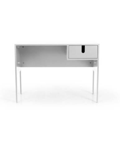Biely pracovný stôl Tenzo Uno
