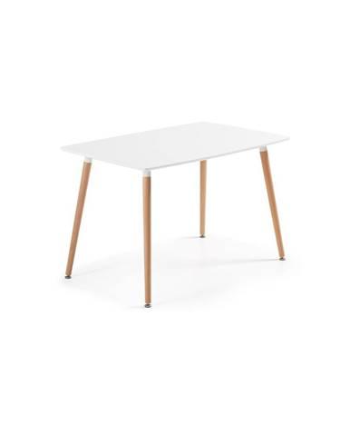 Jedálenský stôl z bukového dreva La Forma Daw, 120 x 75 cm