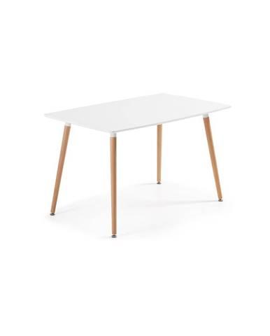 Jedálenský stôl z bukového dreva La Forma Daw, 140 x 80 cm