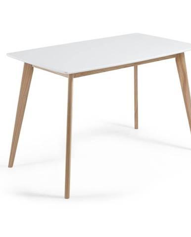Jedálenský stôl z jaseňového dreva La Forma Unit, 140 x 80 cm