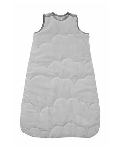 Sivý spací vak pre bábätko Nattiot Nimbus, dĺžka 83 cm