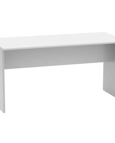 Kancelársky stôl obojstranný biela JOHAN 2 NEW 08