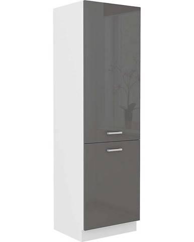 Skrinka do kuchyne SONIA šedý lesk 60DK-202 2F