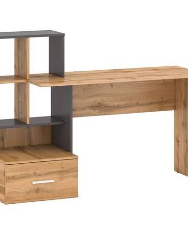 Písací stôl Stil 3 votan/grafit